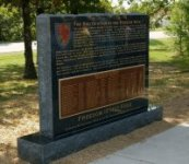 Memorial to 2nd Cml Mortar Bn (Korean War) – click to enlarge