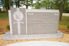 Memorial to 81st Cml Mortar Bn – click to enlarge