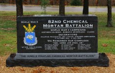 Memorial to 82nd Cml Mortar Bn – click to enlarge